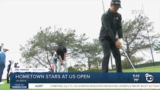 San Diego stars take the green at US Open