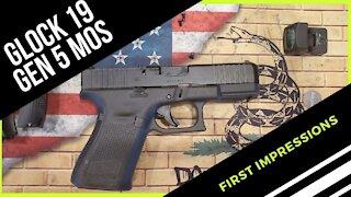 Glock 19 Gen 5 MOS | First Impressions