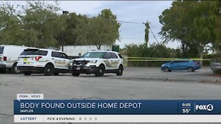 Body found outside Home Depot in Collier County