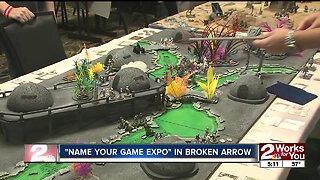 Name Your Game Expo in Broken Arrow