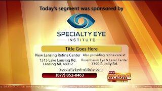 Specialty Eye Institute - 9/18/20