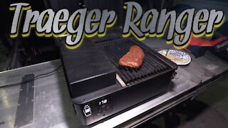 THE BEST SMOKER GRILL FOR TRUCKERS/CAMPERS   Traeger Ranger