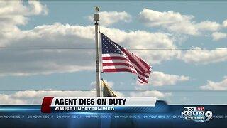 Border Patrol agent dies on duty