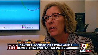 Families reeling after teacher accused of sex abuse