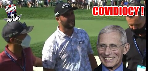 GOLFER JOHN RAHM EJECTED FROM PGA MAJOR WITH 6 STROKE LEAD FOR POSITIVE COVID TEST !