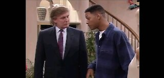 The Donald on Fresh Prince of Bel-Air