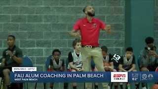 Former FAU star trying his hand at coaching