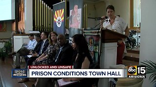 Prison conditions town hall