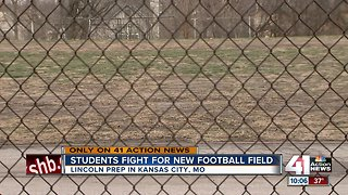 Lincoln Prep students push for new football field