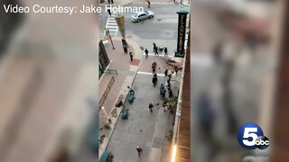 VIDEO: Vandals destroy Cleveland's iconic East 4th Street