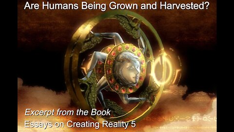 Are Humans Being Grown and Harvested?