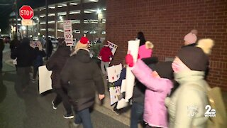 Parents, students call on Harford County Public Schools to reopen schools