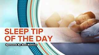 SLEEP TIP OF THE DAY: Stay Active