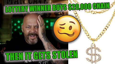 Guy Wins Lottery, Buys A 20k Chain, Gets Robbed