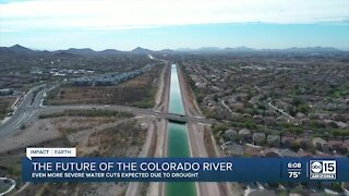 Experts warn AZ water supply will be impacted by drought conditions
