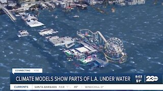 Climate models show parts of L.A. under water