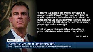 Battle Over Birth Certificates