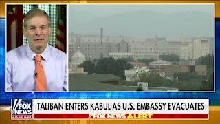Rep Jordan: Biden's Afghanistan Withdrawal Is An Embarrassment For U.S.