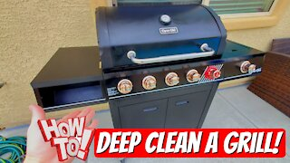How to deep clean a gas grill to make it look brand new