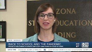 Kathy Hoffman, Superintendent of Public Instruction, talks back-to-school, coronavirus
