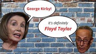 Virtue Signaling Nancy Pelosi & Chuck Schumer - Forget George Floyd's name