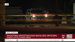 Armed man shot by officers in Glendale