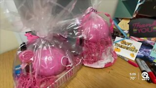 Wellington High health care students fundraise for breast cancer research