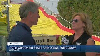 170th Wisconsin State Fair opens tomorrow