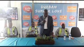 SOUTH AFRICA - Durban - Sod turning at Point Water project (Videos) (efJ)