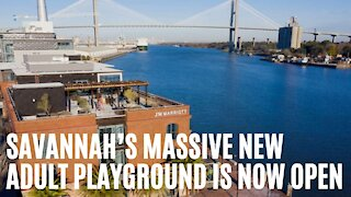 Savannah's Massive New Adult Playground Finally Opens To The Public Today