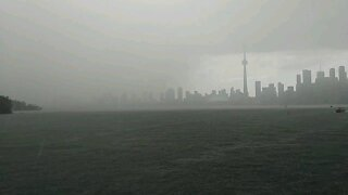 Thunderstorms in Toronto