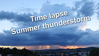 Time lapse - Summer thunderstorm - Relaxing music Jay Sweeps by Geographer