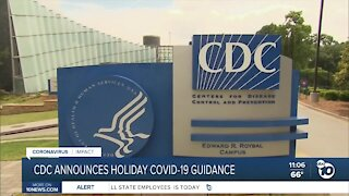 CDC announces holiday COVID-19 guidance