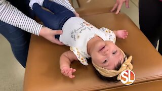 Dr. Stephanie Benz, owner of Culture Chiropractic shows us how chiropractic care can benefit your baby