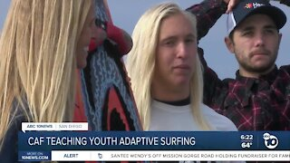 Challenged Athletes Foundation surfing clinic