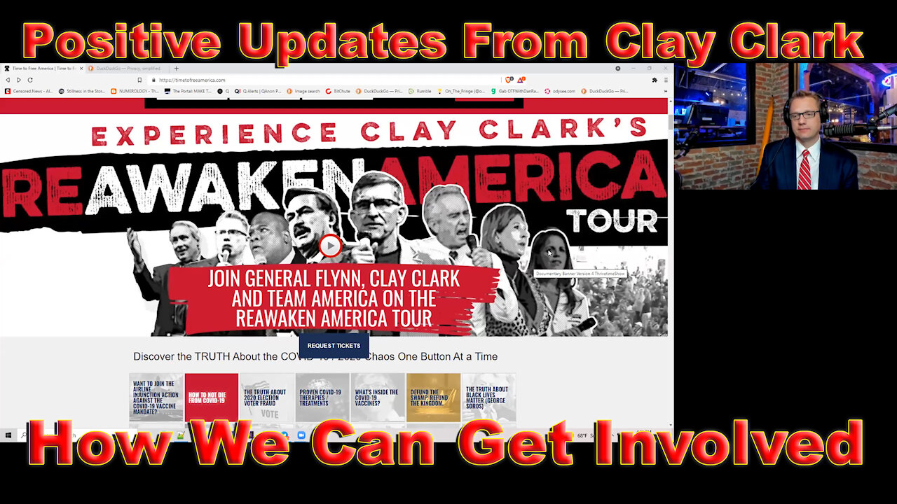 Clay Clark On The Fringe - 8 Positive Updates From Clay! - Must Video