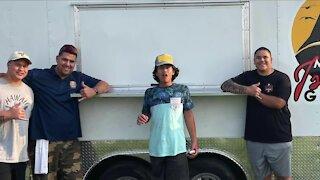 Custom food truck trailer taken by thieves