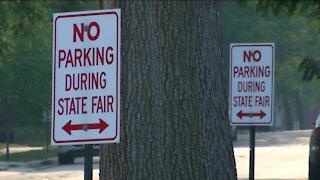 West Allis neighbors prepare lots for State Fair parking