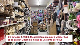 Ontario Minimum Wage Is Rising This Fall For The First Time Since January 2018