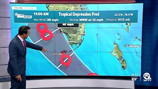 Tropical Depression Fred, Potential Tropical Cyclone Seven