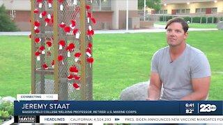 Bakersfield veteran inspired to create 9/11 monument