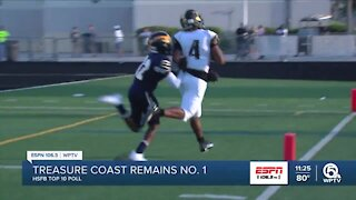 Treasure Coast remains atop Top 10 Poll