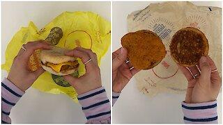 McDonald's sort deux sandwichs déjeuner au poulet pané aujourd'hui