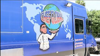 A local man creates the first solar energy food truck in Collier County