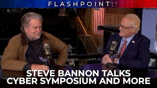 FlashPoint: Steve Bannon talks Cyber Symposium and more!