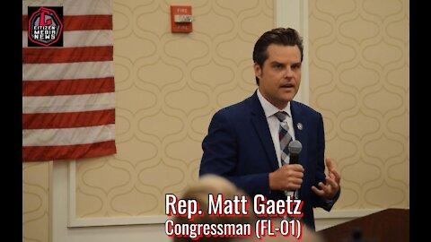 Citizen Media News - Matt Gaetz Speaks at CPAC Texas