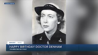 Happy 100th birthday, Dr. Denham!
