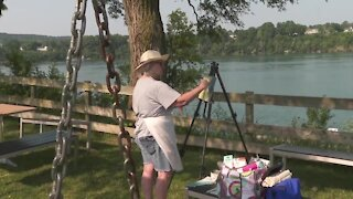 "Local artist group enjoys ""Plein Air"" painting outside around Western New York"