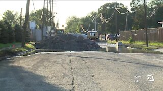 No major movement at collapse site in southwest Detroit