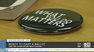 First-time voters excited about 2020 election